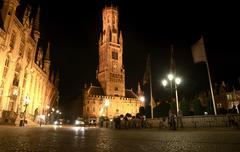 Travel in Brugge - stock photo