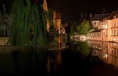 Travel in Brugge - stock photo