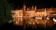 Travel in Brugge Stock Photos