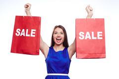 Season of sale Stock Photos