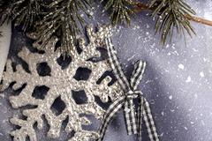 Christmas snowflake Stock Photos