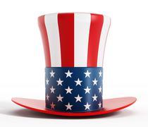 Uncle Sam hat Stock Illustration