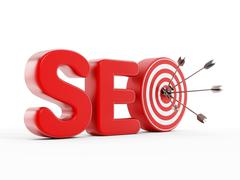 Stock Illustration of SEO Search engine optimization