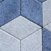 Paving slabs close up a background - stock photo
