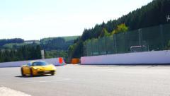 Ferrari 458 Italia sports cars Stock Footage