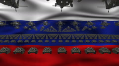 Russian Army - stock footage