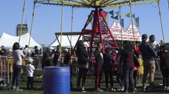 Pumpkinfest at North York's Downsview Park, Toronto Stock Footage