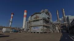 Nitrogen fertilizer plant Stock Footage