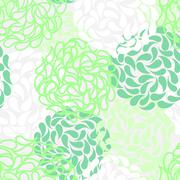 Stock Illustration of seamless floral background. color abstract wallpaper