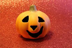 jack o lantern  one of the symbols of Halloween - stock photo