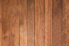 close up grain texture of wood arraged vertical pattern use as natural backgr - stock photo