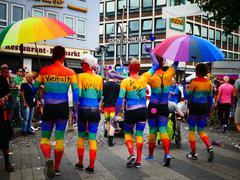 Stock Photo of Europe Germany Cologne Köln Koln Koeln CSD Christopher's Day Parade 2015