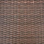 Rattan Basket close-up texture. Stock Photos