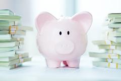 Safe money - stock photo
