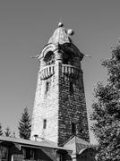 Cerna Studnice lookout tower Stock Photos