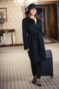 Concept for stylish woman in expensive hotel Stock Photos