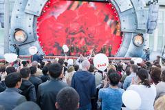 Festival concert show Stock Photos