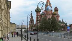 Tourists at the Moscow Kremlin Stock Footage