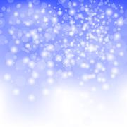 Stock Illustration of Abstract Winter Snow Background