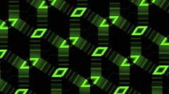 Vj Loops Club Visual Green Motion Background - stock footage