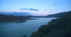 Lake Casitas Timelapse 4K Stock Footage