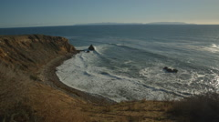 Palos Verdes coast  Stock Footage