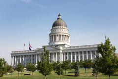 Stock Photo of Utah State Capitol Building