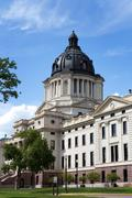 South Dakota Capitol - stock photo