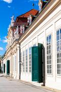 Stock Photo of facade of Lower Palace in Belvedere, Vienna