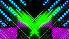 VJ Loop Color Symmetry 4 - stock footage