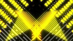 VJ Loop Color Symmetry 6 - stock footage