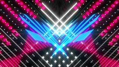 VJ Loop Color Symmetry 8 - stock footage