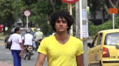Urban Male, Man, City Resident - stock footage