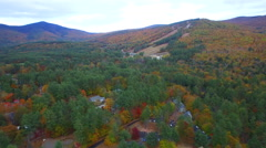 North Conway Mountains USA 2 - stock footage