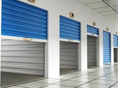 Storage rooms - stock illustration