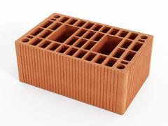 Common house brick - stock illustration
