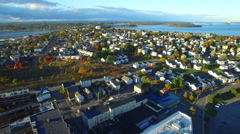 The city of Portland Maine USA 4 - stock footage