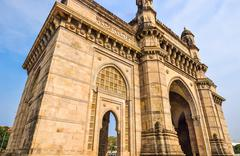Stock Photo of The Gateway of India, Mumbai, India