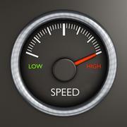 High speed - stock illustration