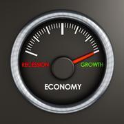 Economic growth Stock Illustration