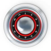 Stock Illustration of Safe dial