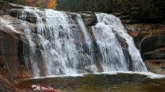 Mumlava Waterfall - stock footage