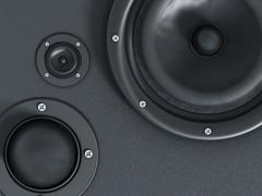 Speaker detail - stock illustration