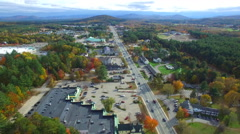 Conway New Hampshire America 2 - stock footage