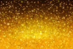Golden Christmas background. Stock Illustration