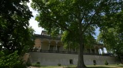 Queen Anne's Summer Palace in Prague Stock Footage