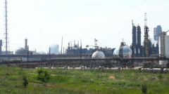 Chemical plant. Stock Footage