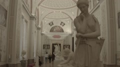 Hermitage Museum Interior HD Stock Footage