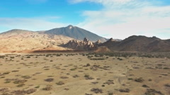Crater Lava Craters Desert Nature Stock Footage