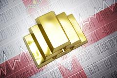 Stock Photo of northern ireland gold reserves